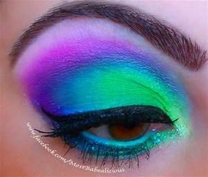 17 Fabulous Neon Eye Makeup Ideas for Women Pretty Designs