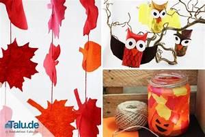 Herbstbasteln Für Fenster : herbstbasteln mit kindern 3 ideen und anleitungen ~ Orissabook.com Haus und Dekorationen