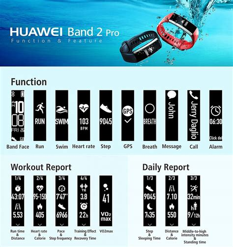 deal alert huawei band 2 pro all in one wristband 29