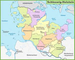 Holstein Germany Map