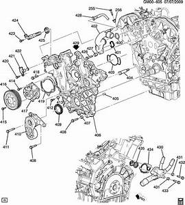 2014 Chevrolet Captiva Base Housing  Engine Coolant