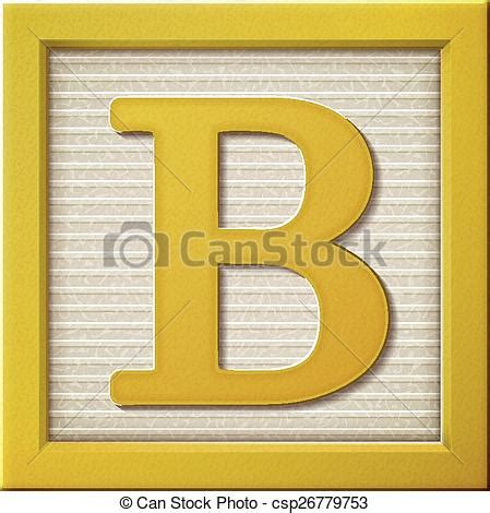 b block letter up look at 3d yellow letter block b 33779