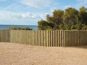 Piquet En Bois Pour Cloture : piquet bois bordure ~ Farleysfitness.com Idées de Décoration
