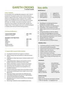 It Support Resume Objective by It Support Technician Cv Sle Description Cvs Curriculum Vitae Customer Service
