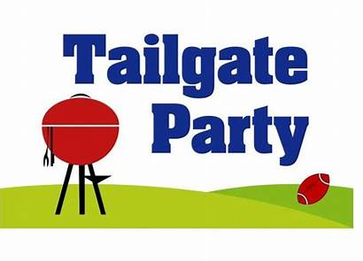 Tailgate Clip Clipart Party Truck Football Tailgating