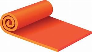 Yoga Mat Clipart - ClipartXtras