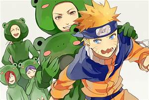 Naruto...Yahiko...Nagato...Konan...Jiraiya...Frog ...