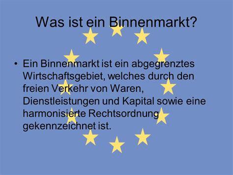 Der Europäische Binnenmarkt  Ppt Video Online Herunterladen