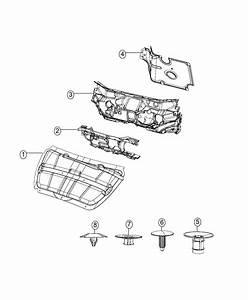 2014 Dodge Dart Silencer  Dash Panel  Engine Compartment