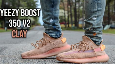 Adidas Yeezy Boost 350 V2 Clay Review And On Foot   YouTube