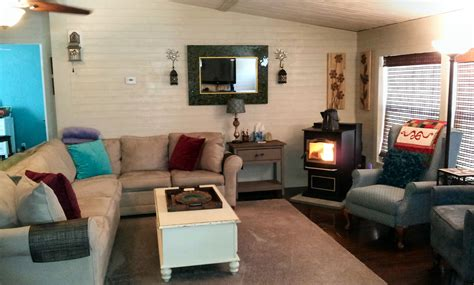 Remodel Ideas For Living Room by Mobile Home Living Room Remodel The Finale My Mobile