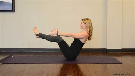 Boat Pose With A Block by 10 Strong Poses To Build Confidence Baptiste