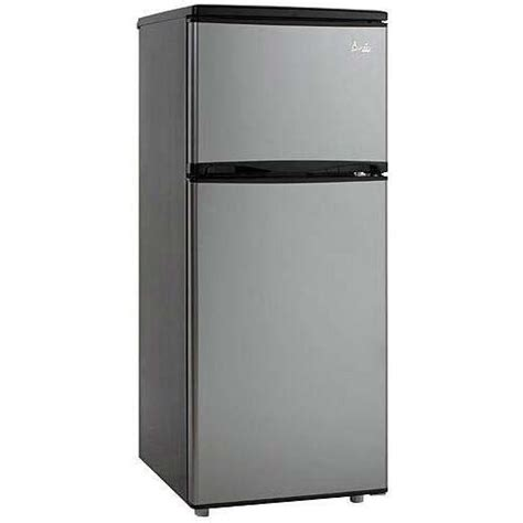 Apartment Size Refrigerator With Freezer by Avanti Ff1009ps 10 Cu Ft Apartment Size Refrigerator