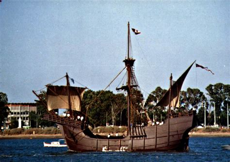 Barcos De Cristobal Colon Huelva by La R 225 Bida Carabela Santa Mar 237 A La Santa Mar 237 A Fue La