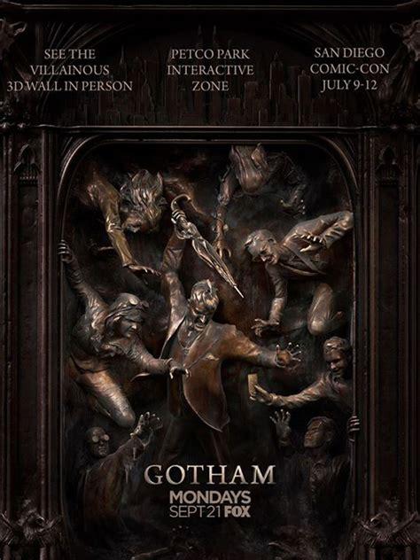 gotham season   poster revealed