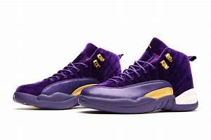 "2017 Air Jordan 12 GS ""Purple Velvet"" Night Maroon ..."