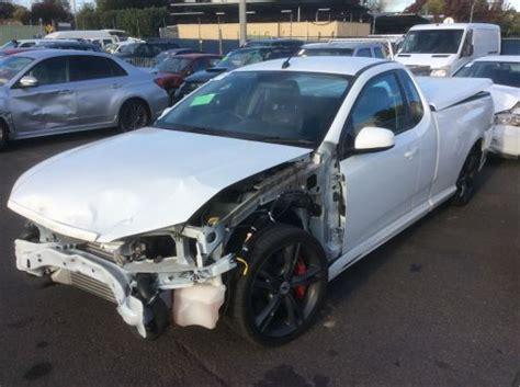 Wrecking 2012 Ford Fpv Fg Mkii F6 Ute