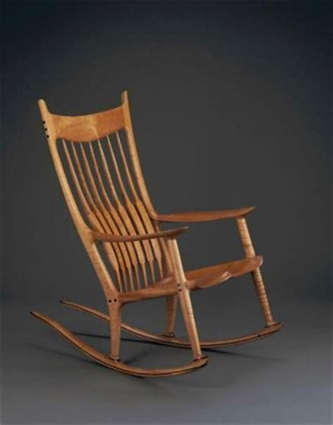 Maloof Rocking Chair Seat by Rocking Chair Sam Maloof 1989 Museum Of Arts