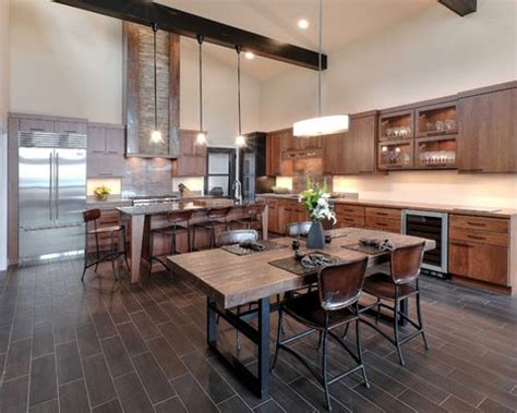 rustic modern kitchen rustic modern ideas pictures remodel and decor