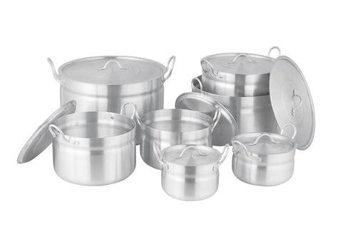 aluminium cookware cooking pot pots pans aluminum yk skillets frying chef china disposable