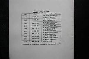 Genuine Kawasaki Service Workshop Manual Supplement Mule