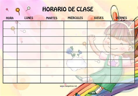 10 best horarios escolares school schedule classroom schedule and minions