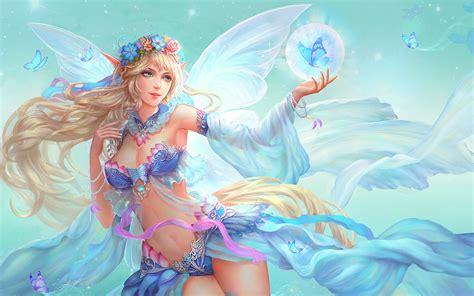 Permalink to Wallpaper Fantasy Girl 3d