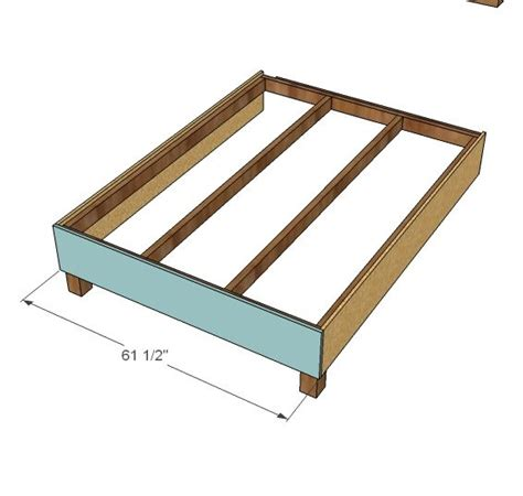 platform bed with white build a lyds no sew upholstered bed free