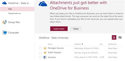 Office 365 Mail Attachment Size Limit by Working With File Attachments Suny Potsdam