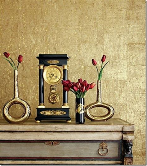 Wandfarbe Gold Metallic by Metallic Wandfarbe F 252 R Ein Luxuri 246 Ses Ambiente In Ihrer