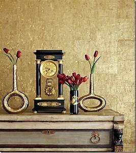 Wandfarbe Gold Metallic : metallic wandfarbe f r ein luxuri ses ambiente in ihrer wohnung ~ Frokenaadalensverden.com Haus und Dekorationen