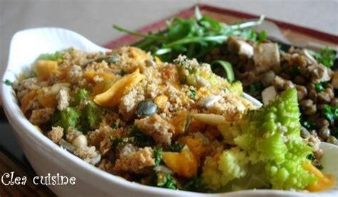 clea cuisine crumble de choux la mimolette vieille et aux graines clea