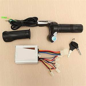 24v 500w Brushed Controller Electric Scooter Throttle