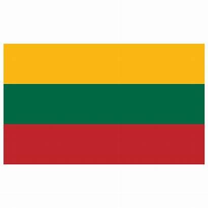 Flag Lithuania Icon Lt Flags Banner Rojava