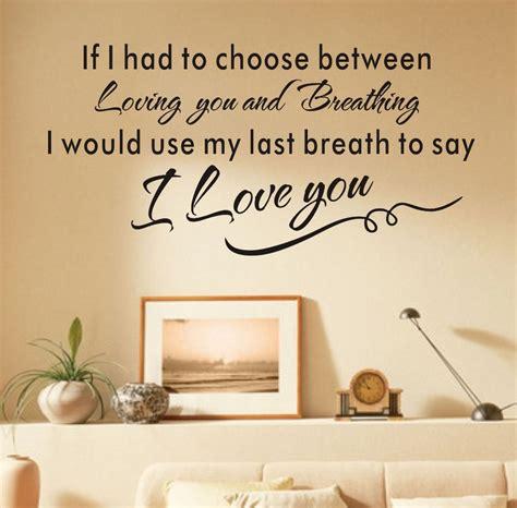 love wall art letters wallpaper bedroom decor pegatinas