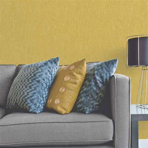 papier peint vinyle sur intiss 233 ecorce v 233 g 233 tale moutarde