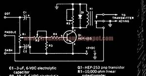 Circuit Wiring Solution  Simple Electronic Keyer Wiring