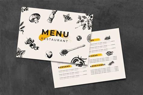 italian cuisine menu template vector    images
