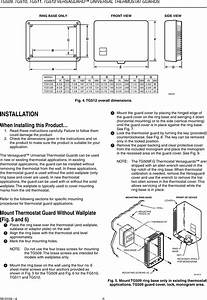 Honeywell Thermostat Tg509 Users Manual 68 0104 Tg509