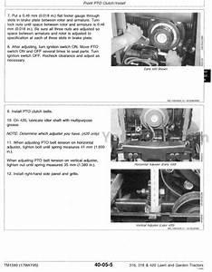 John Deere Garden Tractor Parts Pdf