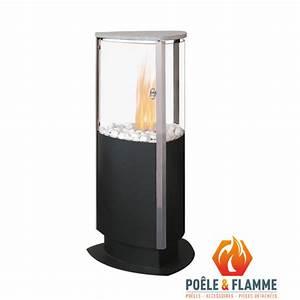 Poele A L Ethanol : po le l 39 thanol trio po le flamme ~ Premium-room.com Idées de Décoration