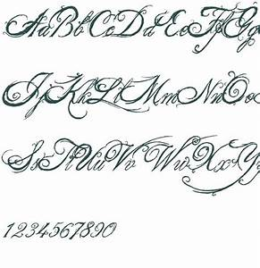 Tattoo Font Generator Cursive - Tattoo Collections