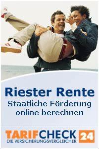 Riester Rente Höhe Berechnen : riester rente riester rente vergleich ~ Themetempest.com Abrechnung