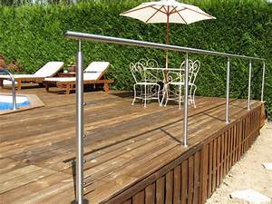 Garde Corps Terrasse Inox : protections de piscines erminox ~ Melissatoandfro.com Idées de Décoration