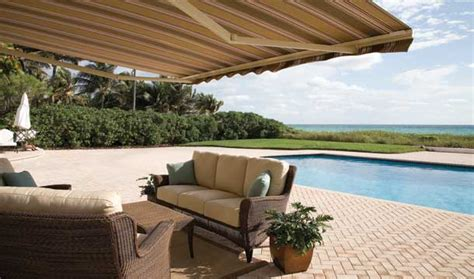 retractable awning by sunbrella motiq home
