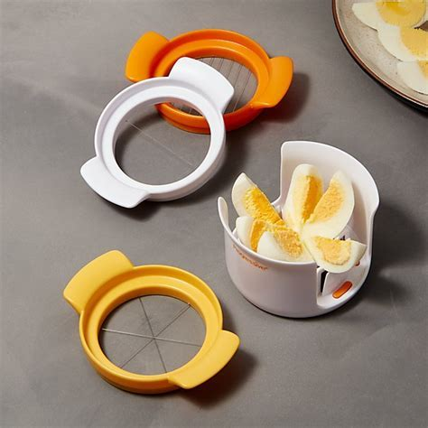 3 in 1 Egg Slicer   Reviews   Crate and Barrel