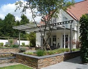 Terrassen berdachung modern veranda terrasoverkapping for Mediterrane terrassenüberdachung