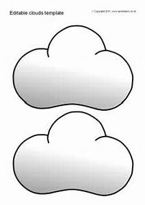 Editable clouds template (SB5543) - SparkleBox