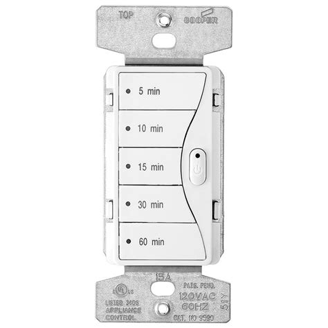 Shop Cooper Wiring Devices Amp White Decorator Light