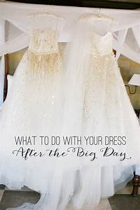 the wedding scoop With what to do with wedding dress after wedding